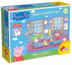 Puzzle Gigant Świnka Peppa, 24 elementy