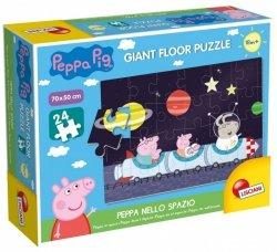 Lisciani Puzzle Gigant Świnka Peppa, 24 elementy