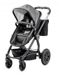 Wózek wielofunkcyjny 3w1 Veo czarny/szary