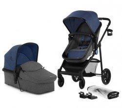 Kinderkraft Wózek wielofunkcyjny 2w1 Juli denim