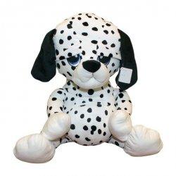Axiom Maskotka Pies Bruno w czarne kropki 45 cm