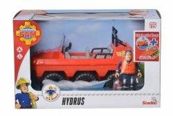 Simba Pojazd Hydrus z figurką Strażaka Sama