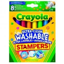 Goliath Pieczątki flamastrowe zmywalne 8 sztuk Crayola