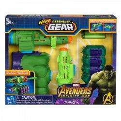 Hasbro Wyrzutnia Nerf Avengers Infinity War Hulk Assembler Gear