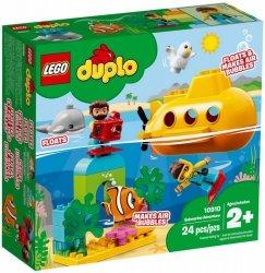 LEGO Polska Klocki DUPLO Przygoda w łodzi podwodnej