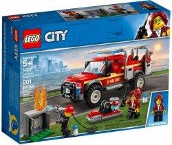 LEGO Polska Klocki City Terenówka komendantki straży pożarnej