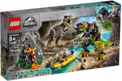 LEGO Polska Klocki Jurassic World Tyranozaur kontra mechaniczny dinozaur
