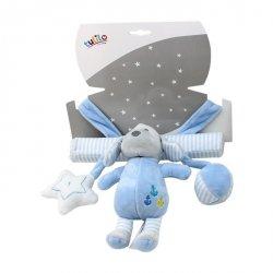 Axiom Zawieszka z dodatkami New Baby Piesek niebieski 22 cm