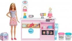 Mattel Lalka Barbie Pracownia Wypieków