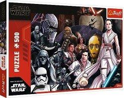 Puzzle 500 elementów - Star Wars IX