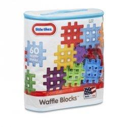 Klocki Waffle Blocks Zestaw 60 elementów