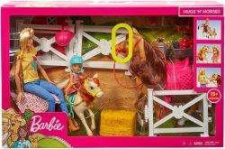 Mattel Lalka Barbie Stadnina koni zestaw
