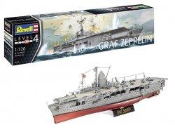 Revell Model plastikowy Niemiecki lotniskowiec Graf Zeppelin Sh