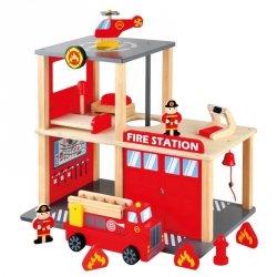 BINO Drewniana remiza strażacka