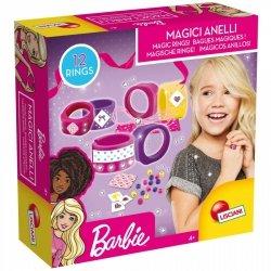 Zestaw kreatywny Barbie - Magiczne pierścionki