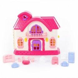 WADER-POLESIE Domek dla lalek Bajka z zestawem akcesoriów