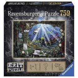 Ravensburger Puzzle 759 elementów - Exit, Łódź podwoda