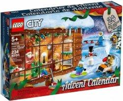 LEGO Polska Klocki  Kalendarz adwentowy City