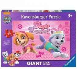 Ravensburger Puzzle 24 elementy - Psi Patrol, Sky&Everest