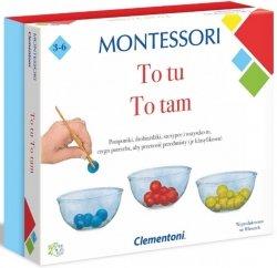 Clementoni Zestaw Montessori To Tutaj, To Tam