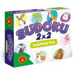 Gra Sudoku 2X2 Zwierzęta