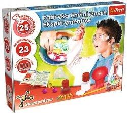 Trefl Zestaw edukacyjny Fabryka chemicznych eksperymentów