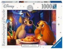 Puzzle 1000 elementów Zakochany Kundel