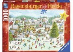 Ravensburger Puzzle 1000 elementów Świąteczny dzień