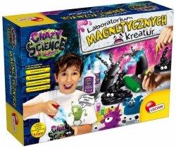 Lisciani Zestaw naukowy Crazy Science Laboratorium Magnetycznych Kreatur