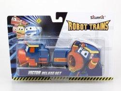 Cobi Pojazd z wagonikami Deluxe Robot Trains Wiktor