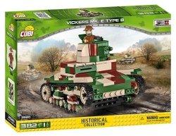 Cobi Klocki Klocki Historical Collection Vickers Mk. E Type B - brytyjski czołg lekki