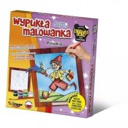 Mirage Zestaw kreatywny wypukła malowanka Bajki Pinokio