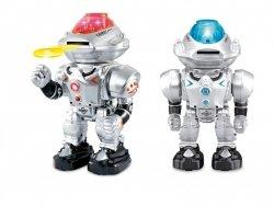 Brimarex Robot R/C Space Armor strzelający krążkami 30 cm