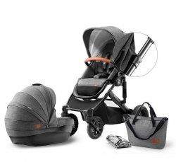 Kinderkraft Wózek głęboko-spacerowy Prime 2w1