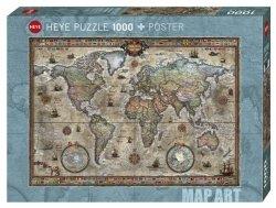 Heye Puzzle 1000 elementów Retro World