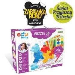 Wader Edu Baby Puzzle 3D Pets