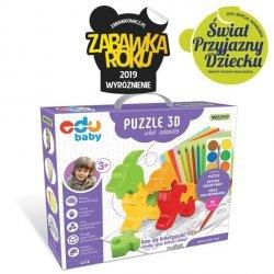 Wader Edu Baby Puzzle 3D Zwierzęta