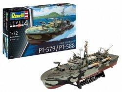 Revell Model plastikowy Patrol Torpedo Boat PT-588/P