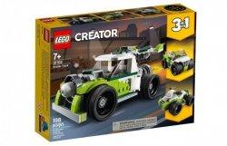 LEGO Klocki Creator Rakietowy samochód