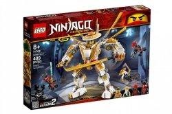 LEGO Klocki Ninjago Złota zbroja
