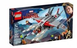 LEGO Klocki Super Heroes Kapitan Marvel i atak Skrullów