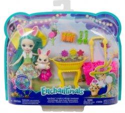 Mattel Lalka Enchantimals Wiosenne króliczki zestaw