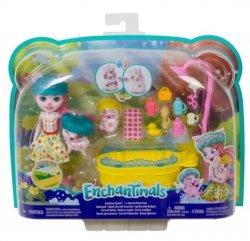 Mattel Lalka Enchantimals Kąpiel świnek zestaw