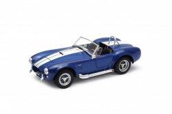 Welly Model kolekcjonerski 1965 Shelby Cobra 427 SC, niebieski