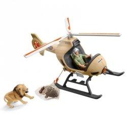 Schleich Helikopter ratunkowy dla zwierząt