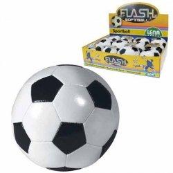 Piłka miękka czarno biała 10 cm