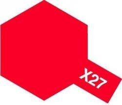 Tamiya Farba Acrylic Mini X-27 Clear Red