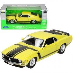 Samochód Ford Mustang Boss 302 1970, żółty