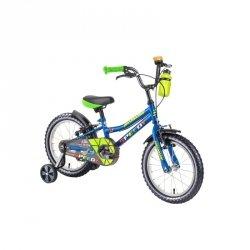 """Rower dziecięcy DHS Speedy 1403 14"""" - model 2019 Kolor Zielony"""