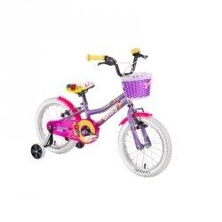 """Rower dziecięcy DHS Daisy 1404 14"""" - model 2019 Kolor Fioletowy"""